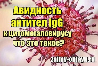 Фото Авидность антител IgG к цитомегаловирусу – что это такое