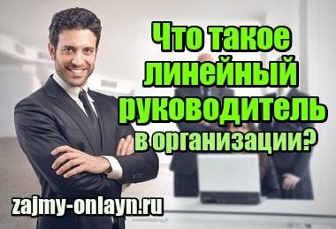 Миниатюра Что такое линейный руководитель в организации, его функции, чем отличается от функционального